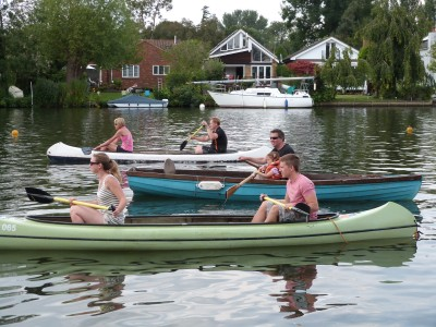 Thames Valley Rag Regatta 2014